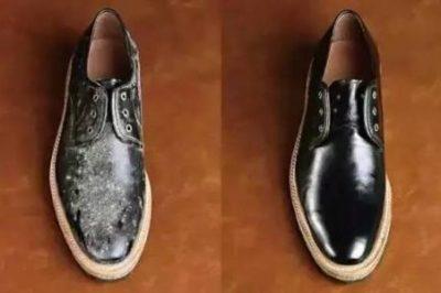 防霉抗菌膏怎么处理黑皮鞋发霉